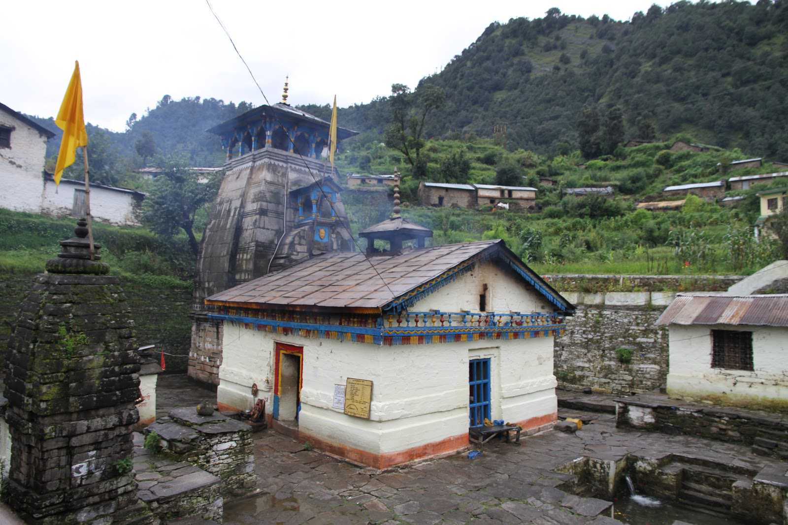 Kalpeshwar Temple, Uttarakhand  IMAGES, GIF, ANIMATED GIF, WALLPAPER, STICKER FOR WHATSAPP & FACEBOOK