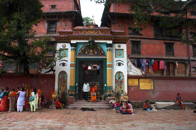 Guhyeshwari Temple, Nepal  IMAGES, GIF, ANIMATED GIF, WALLPAPER, STICKER FOR WHATSAPP & FACEBOOK
