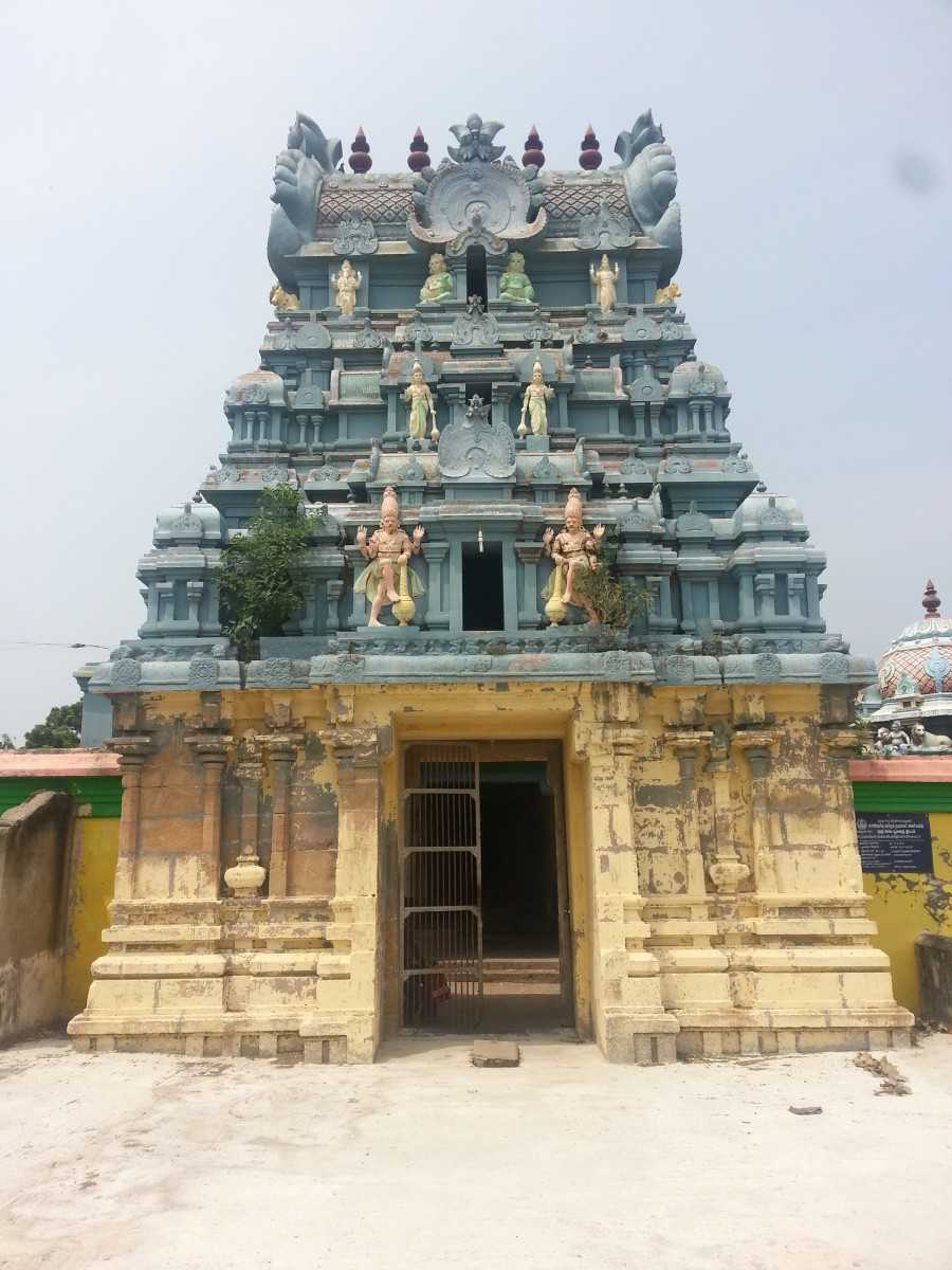 Mahendrapalli Temple, Nagapattinam district, Tamil Nadu