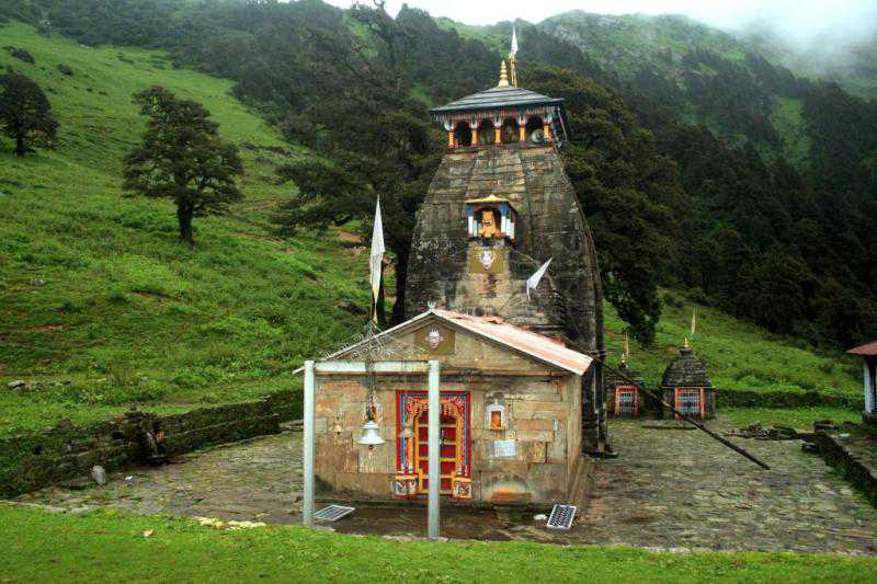 Madhyamaheshwar Temple, Uttarakhand  IMAGES, GIF, ANIMATED GIF, WALLPAPER, STICKER FOR WHATSAPP & FACEBOOK