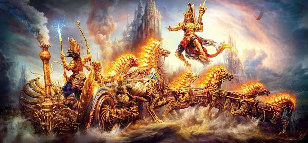 Stories from Hindu Mythology - Powerful Weapons of Gods ...