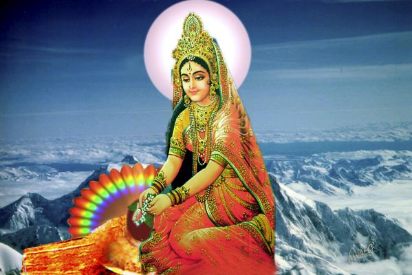 Goddess Parvati - Hindu Goddesses and Deities