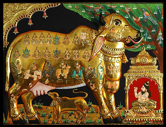 Kamadhenu - The Sacred Cow Who Grants All Our Wishes - TemplePurohit