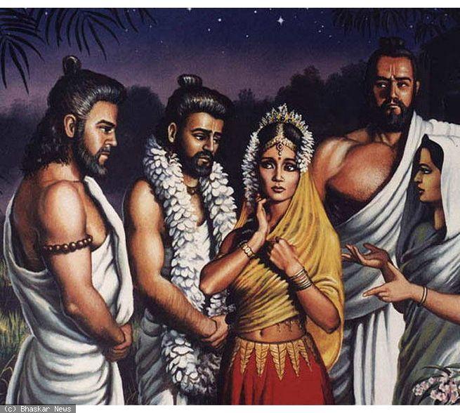 draupadi and her children   the story of upapandavas   templepurohit