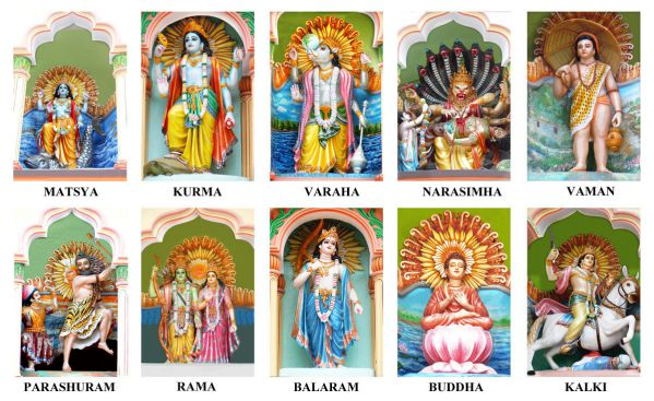 Lord Vishnu Dashavtar