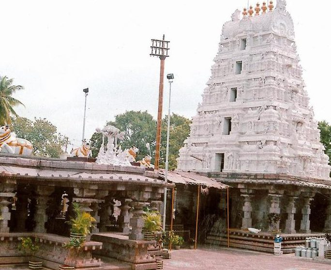 Mallikarjuna Jyotirlinga Srisailam Temple