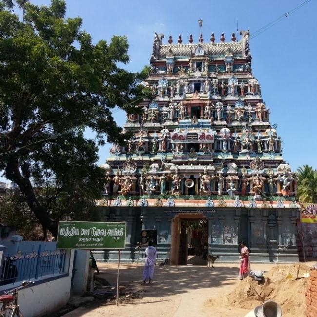 Thirukattupalli Temple,Tamil Nadu