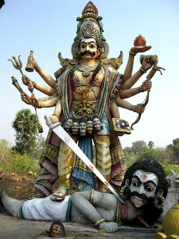 Veerabhadra Swamy - The Manifestation of Lord Shivas Wrath