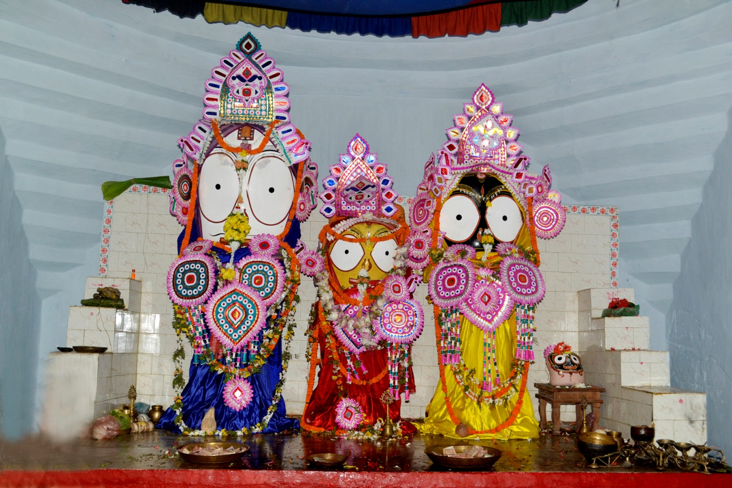 Balabhadra, Subadgra and Jagannath