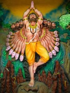 Ravananugraha - Lord Shiva and Ravana