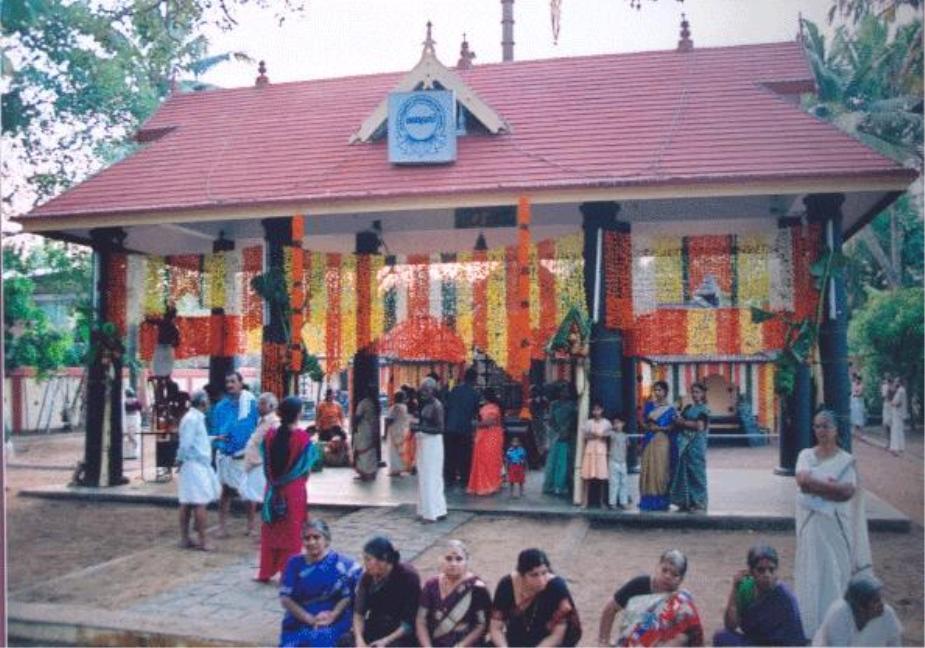 Thamaramkulangara Sree Dharma Sastha Temple, Kerala