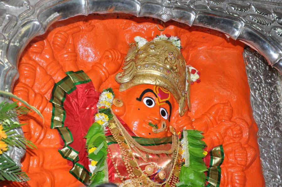 Saptashrungi Devi Temple, Vani  IMAGES, GIF, ANIMATED GIF, WALLPAPER, STICKER FOR WHATSAPP & FACEBOOK