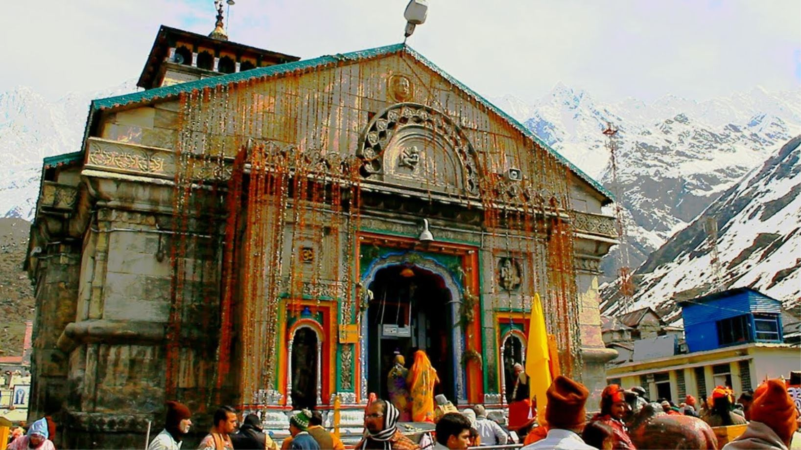 Kedarnath Temple, Uttarakhand  IMAGES, GIF, ANIMATED GIF, WALLPAPER, STICKER FOR WHATSAPP & FACEBOOK