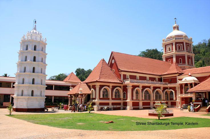 Shantadurga Temple Kavlem Temple Architecture