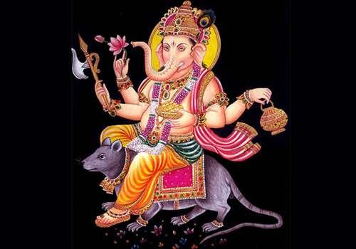 Mooshika Vahana - Ganapat Vahana - Carrier of Hindu Gods and Goddesses