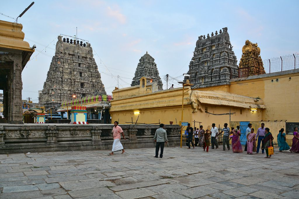 Kamakshi Amman Temple, Kanchipuram  IMAGES, GIF, ANIMATED GIF, WALLPAPER, STICKER FOR WHATSAPP & FACEBOOK