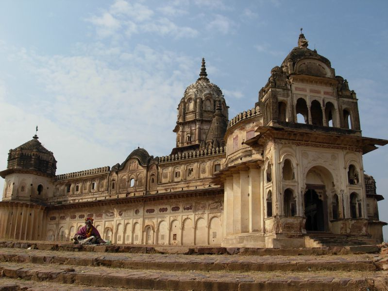 Orccha Temples - Lakshmi temple