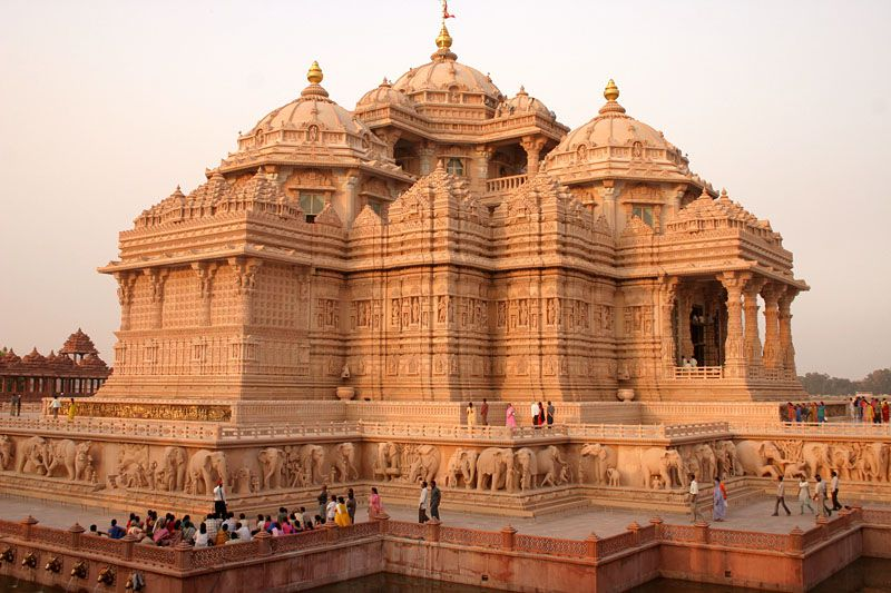 Akshardham Temple, Gandhinagar, Gujarat