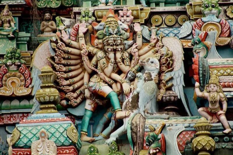 Ashtamukha Gandaberunda - Sharabha Shiva Avatar - Lord Narasimha