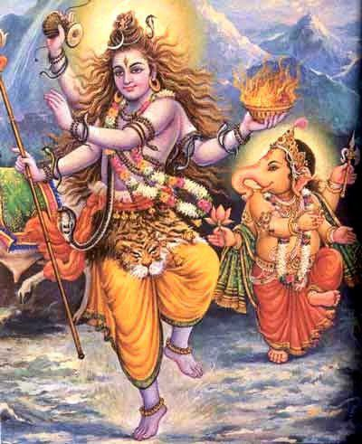 Ganesha and Shiva - Story of Ganesha being the head of Shiva's ganas