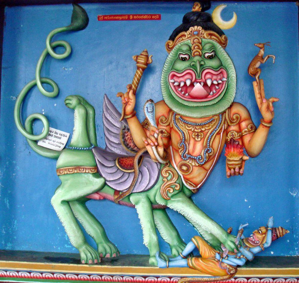 Sharabha - The Shiva Avatar Who Liberated Lord Narasimha