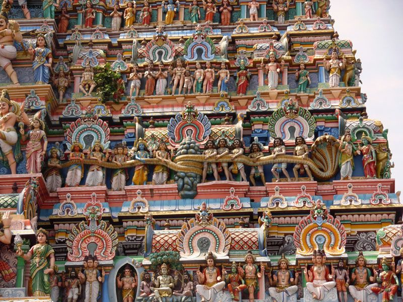 Significance And Symbolism Of Temple Gopuram Templepurohit