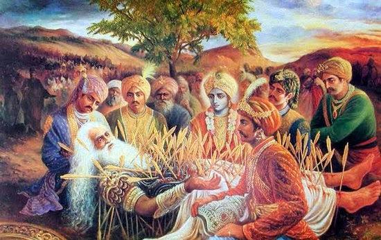 Overcoming Tragedies In Life Bhishma Pitamah S Life Lesson To Yudhisthira Templepurohit Your Spiritual Destination Bhakti Shraddha Aur Ashirwad