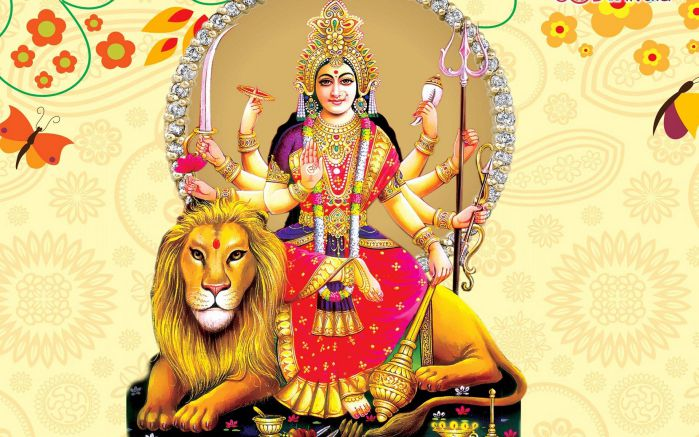 Powerful Durga Mantras - In English,Sanskrit with Meaning