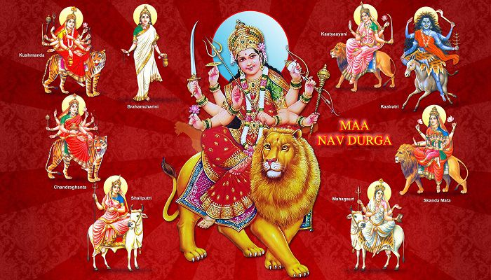 Navdurga Mantra - Meanings and Benefits - Chant for Prosperity, Health