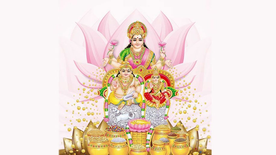 Kuber Mantra, Lakshmi Kuber Mantra - In English, Sanskrit