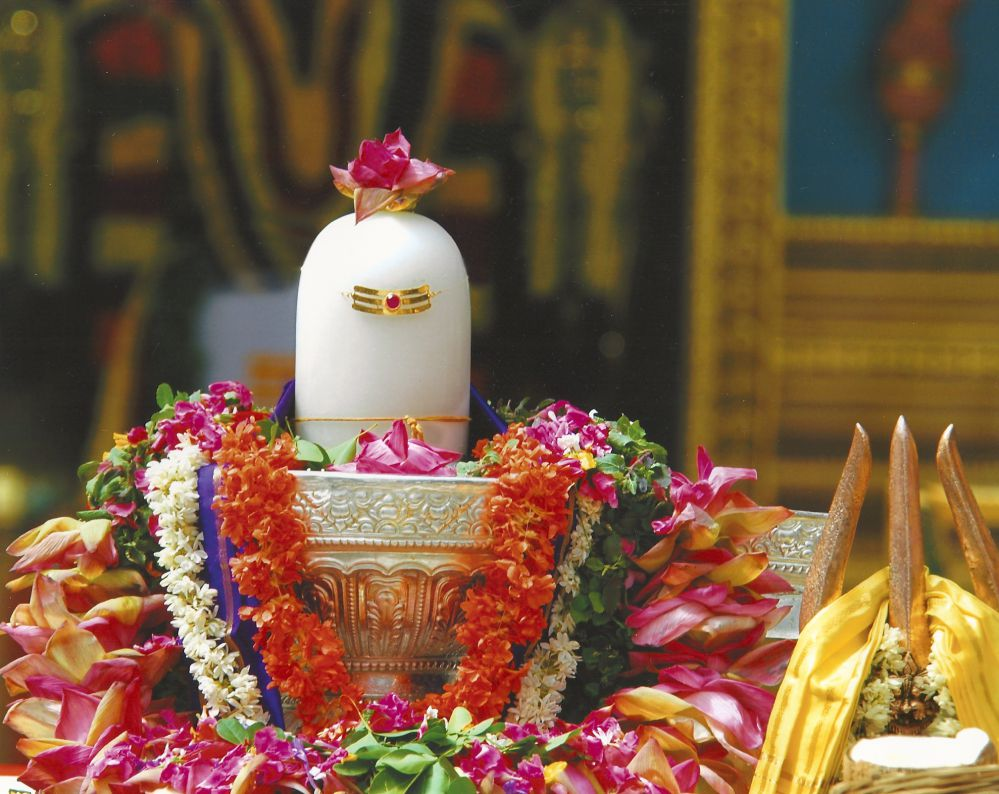 Image result for shiv temple decorated with flowers,nari