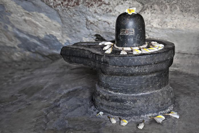 Shiva Linga as a representation of Shiva and Shakti