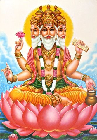 Brahma the Creator - What Does Brahma Hold and Why