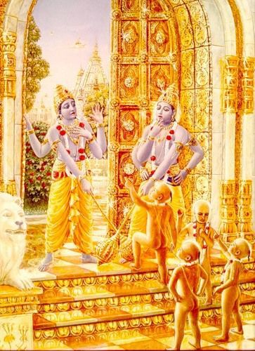 jaya and vijaya gatekeepers of lord vishnu
