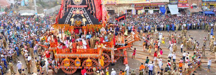 Rath Yatra at Puri Jagannath Temple