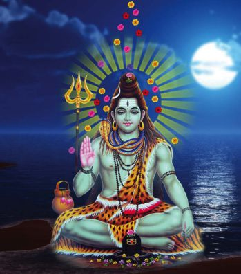 Why there is moon on lord shivas head