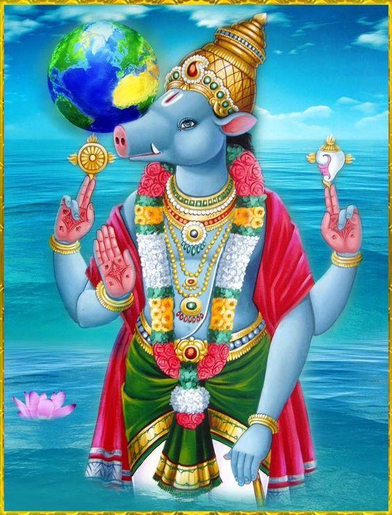 Varaha Avatar Story - Dashavatar Lord Vishu