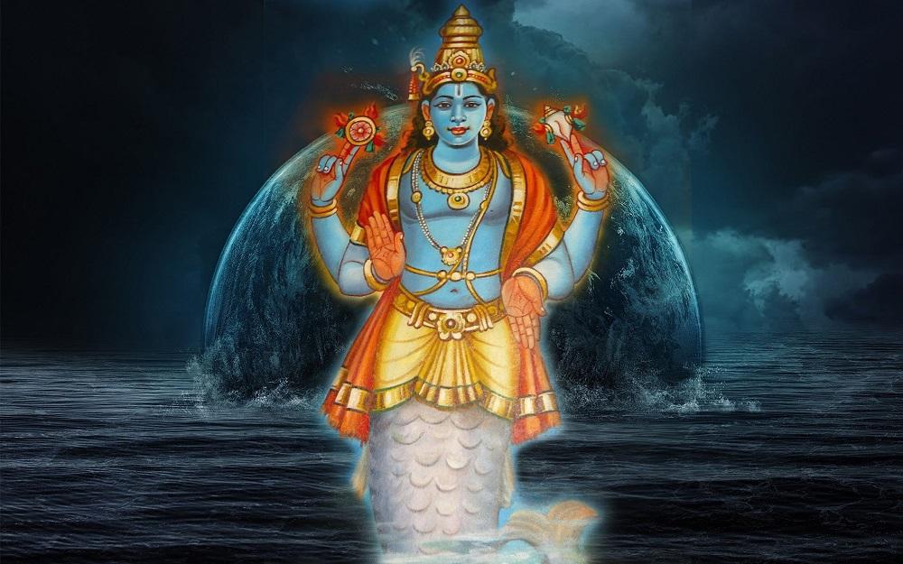 Matsya Avatar Story - Why was Lord Vishnu Born as Matsya Avatar?