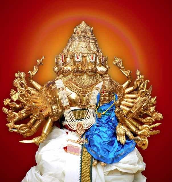 Ashtamukha Gandabherunda Narasimha