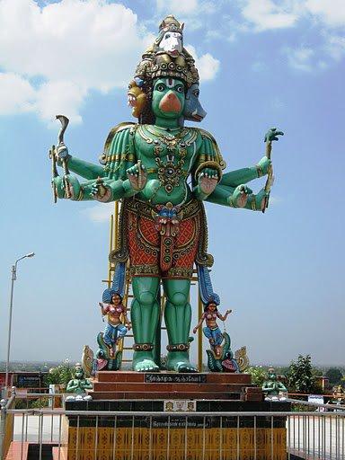 Panchmukhi Anjaneya Temple Kumbakonam